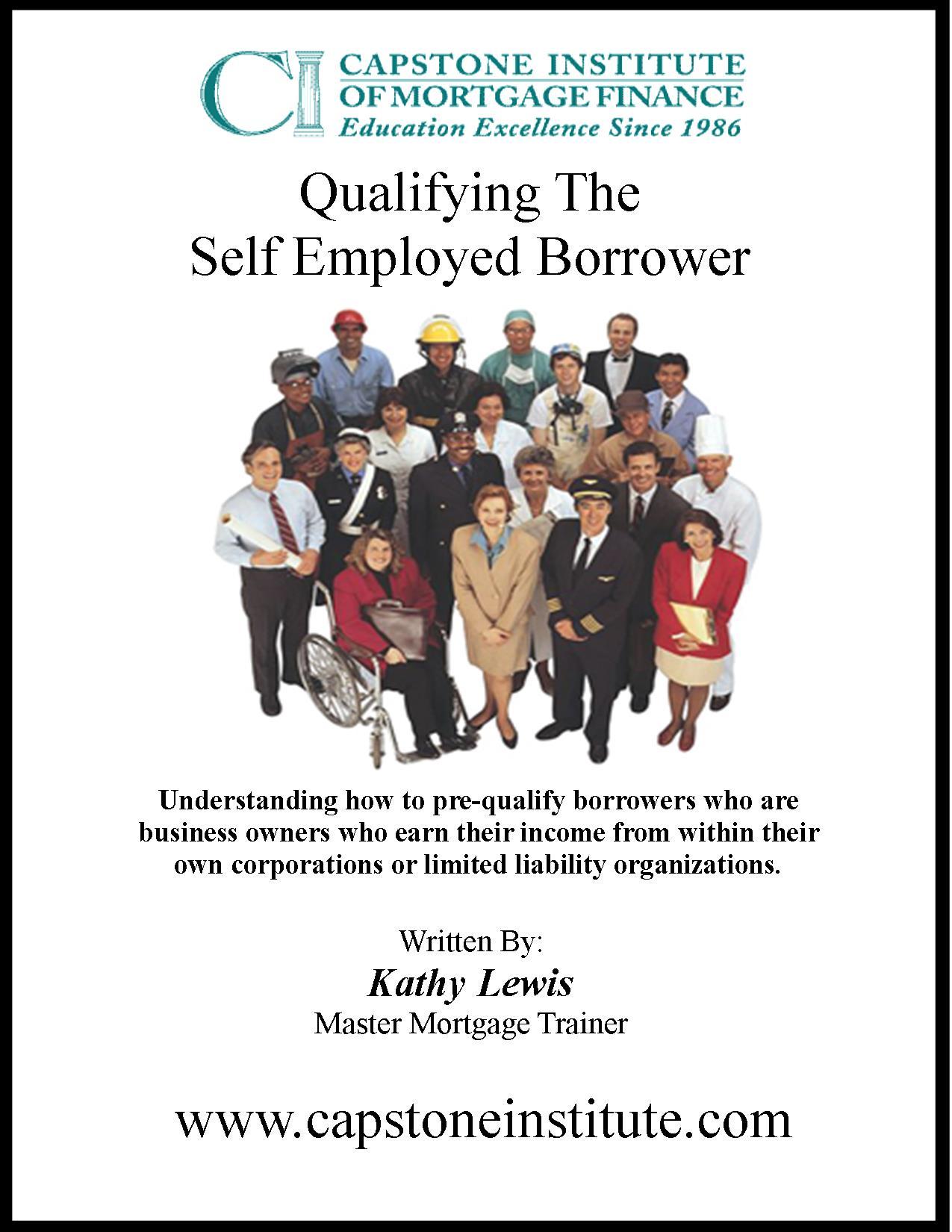 Qualifying The Self Employed