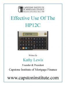 Loan Originator Training | Capstone Institute